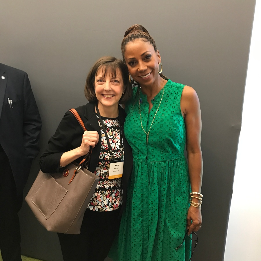Ventures ATL - Holly Robinson Peete and Sara - Autism @ Work Summit 2018